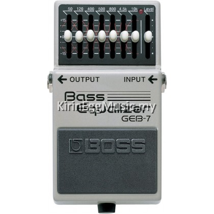 Bass GEB-7 Bass Equalizer Effect Pedal (GEB7) EQ Pedal