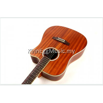 Matilda M5 Acoustic Guitar Dreadnought Package with Bag, Tuner, Finger Protector, Picks, Pick Holder, Strap