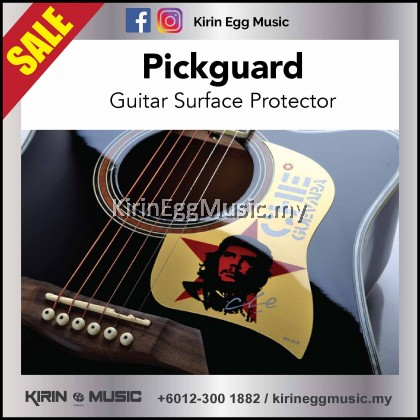 Guitar Pickguard, Guitar Body Protector, Surface Protector to keep away scratches, Che Guevara