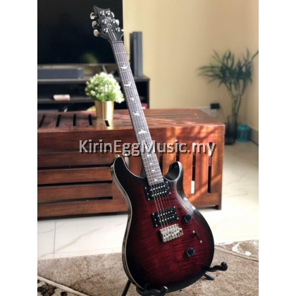 PRS Electric Guitar SE Custom 24, Package Fire Red Burst