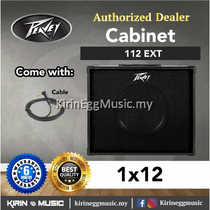 Peavey Cabinet 112 EXT Guitar Cabinet 1x12 (Extension Speaker Cabinet) 40 watts