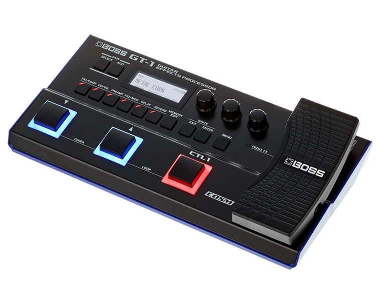 Boss GT-1 Guitar Effects Processor with Free Adaptor