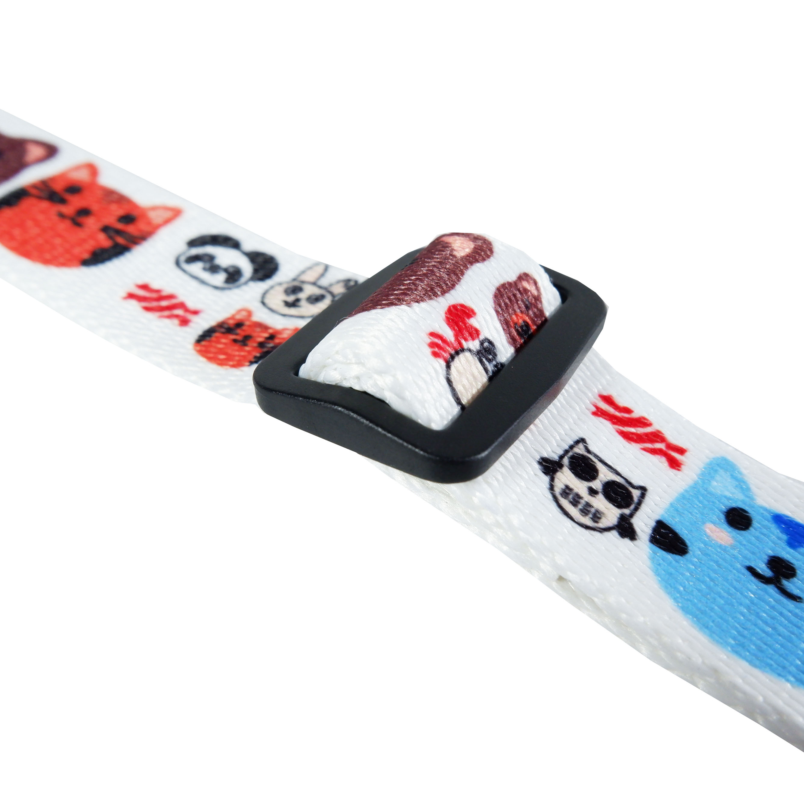 Ukulele Strap for Standing Perform, Play and Sing Along Holder,Hook, Adjustable Strap, Cute Animals Pets with Free Pick